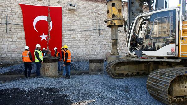 After decades of debate, Turkey starts building mosque in Istanbul square