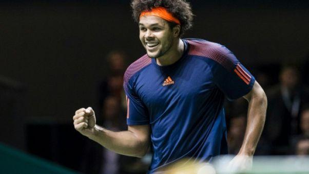 Tennis: Tsonga s'offre Cilic et une demie à Rotterdam
