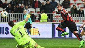Ligue 1: Le Bihan sauve Nice, Nantes sourit