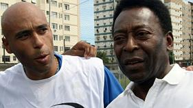 Brésil: le fils de Pelé condamné en appel à près de 13 ans de prison