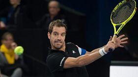 Tennis: Gasquet croque Monfils pour avancer en demies à Marseille