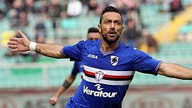 Calcio: Palermo-Sampdoria 1-1