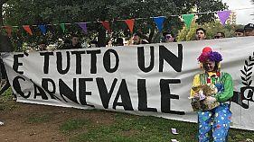 Tifosi Palermo, 'è tutto un carnevale'