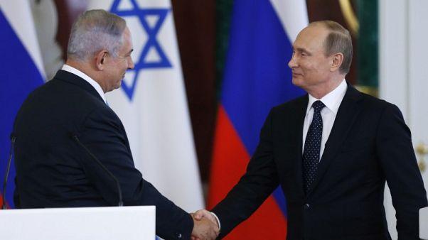 Netanyahu to meet Putin, says Iran seeks permanent foothold in Syria