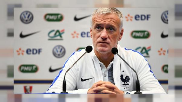 """Equipe de France: Deschamps assure que Mbappé """"aura du temps de jeu"""""""