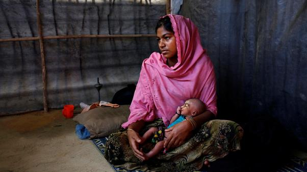 Rohingya newborns offer frail hope in face of Myanmar violence
