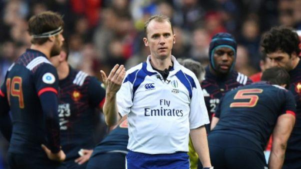 """Six nations: pour Jones, l'arbitre anglais de France-Galles a """"fait du super boulot"""""""