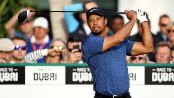 """Golf: Tiger Woods """"fait le maximum"""" pour participer au Masters"""