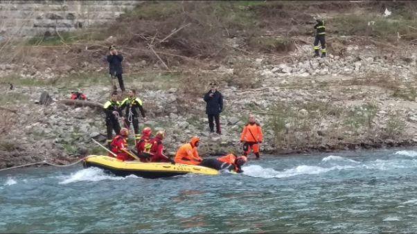 Morti in fiume,trovato il terzo cadavere