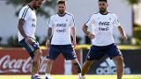 Aguero and Rojo return for Argentina against Chile