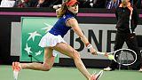 Tennis: retour écourté à Miami pour Cornet