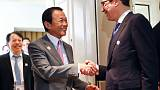 Japan Finance Minister - G20 shared need for free trade