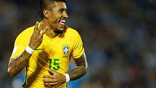 Paulinho hat-trick helps Brazil to 4-1 win over Uruguay