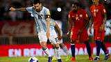 Messi penalty gives relieved Argentina 1-0 win over Chile