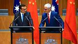 China accepts more Australian beef exporters as leaders meet