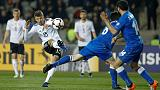 Soccer-Germany crush Azerbaijan 4-1 to go seven points clear