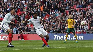 Defoe scores on return as England beat Lithuania