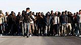Nearly 1,200 migrants picked up off Libya, heading to Italy