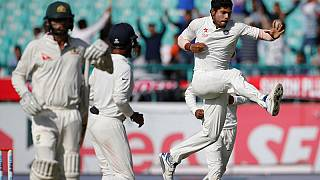 Australia out for 137, India need 106 to win series