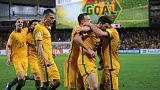 Australia end run of draws with 2-0 UAE victory