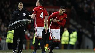 Man United's Smalling and Jones to miss West Brom game