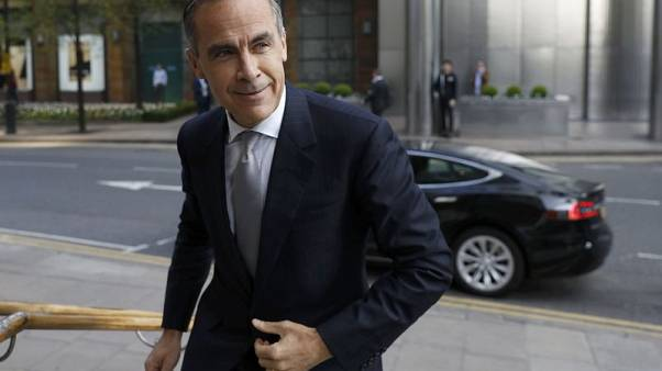 Bank of England's Carney calls for UK-EU bank rules pact after Brexit