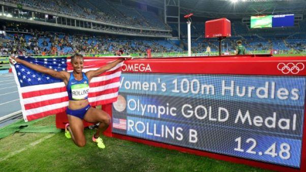 Dopage: l'Américaine Brianna Rollins, championne olympique du 100 m haies, suspendue