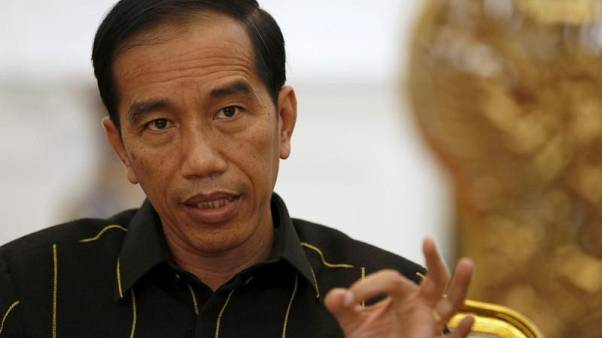 Indonesian president's coalition shows fractures, exit poll shows