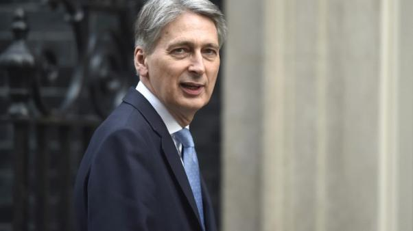 Chancellor Hammond sees strong U.S. support for bilateral trade deal