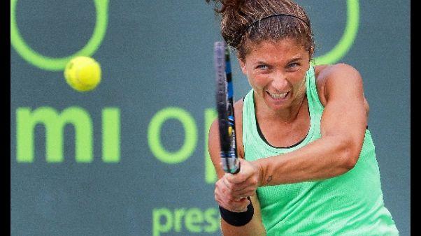 Tennis, domani Fed Cup, Italia-Taipei