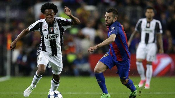 Juventus, rientrato Cuadrado