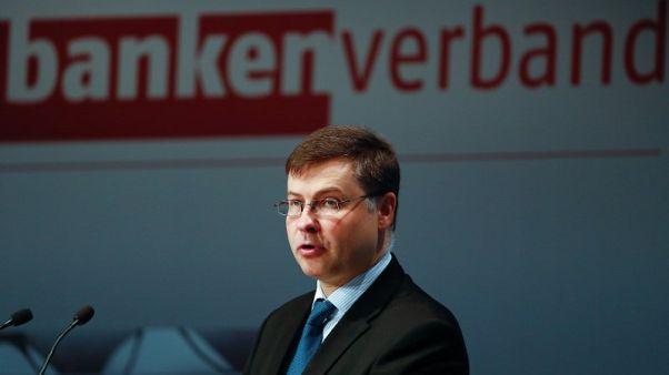 EU executive to present euro zone budget idea next month
