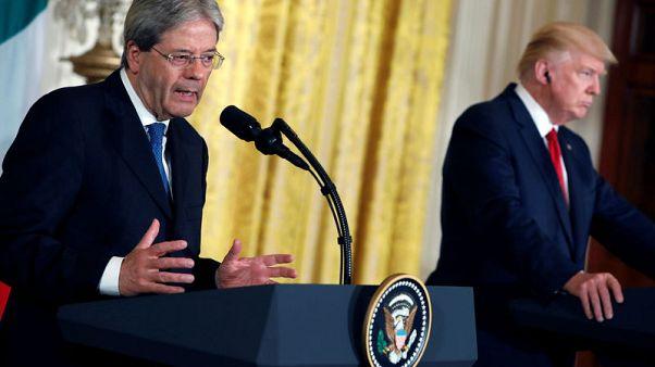 Italy sees U.S. supportive over Libya, denies Trump snub