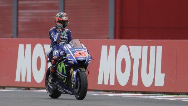 Moto: FP1 a Vinales, Rossi ottavo