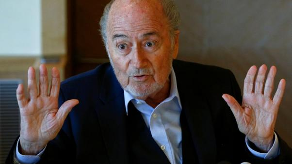 Fallen FIFA boss Blatter says met U.S. lawyers, but is not a suspect