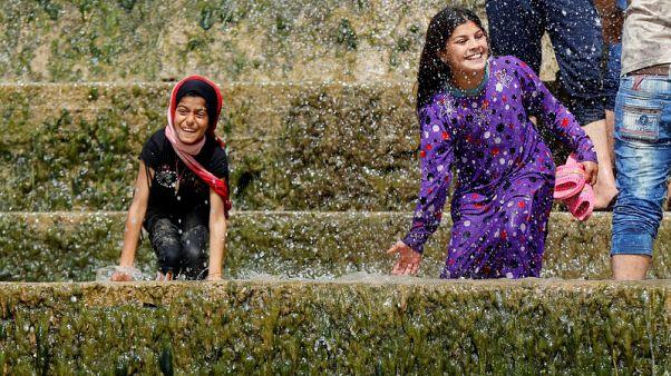 At Mosul waterfalls, Iraqis savour small joys of post-Islamic State life