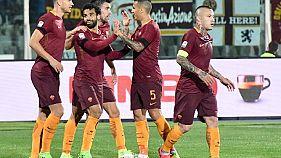 Serie A: la Roma vince 4-1, Pescara in B
