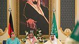 Merkel en Arabie saoudite pour parler coopération et G20