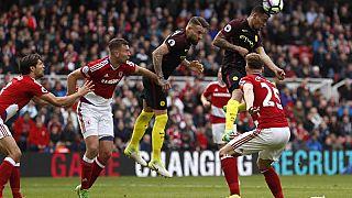 Gabriel Jesus header gives City 2-2 draw at Middlesbrough