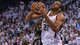 NBA: Gobert (Utah) opérationnel pour le match N.7 contre les Clippers