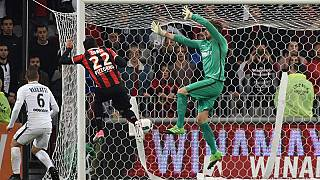 PSG's title hopes dented in stormy defeat at Nice