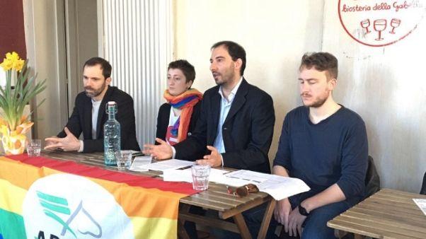 A Reggio E. processione anti gay pride