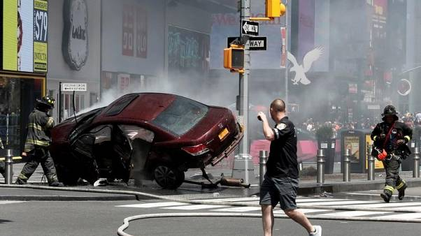 Times Square mayhem raises question about recent redesign