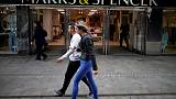 M&S annual profit down 10 percent, clothing sales fall in latest quarter