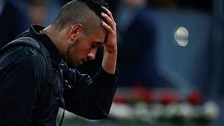 Kyrgios suffers early exit in Lyon as French Open nears