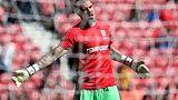 Valdes to leave Boro after Premier League relegation