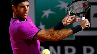 Del Potro suffers shock exit in Lyon, Raonic marches on