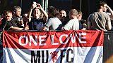 Finale Europa League: les supporteurs de Manchester ébranlés mais confiants