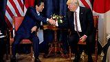 Trumps calls North Korea a 'big problem', promises to resolve issue