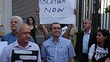 U.N. Cyprus envoy says ending shuttle diplomacy bid for new peace conference